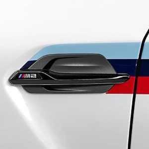 BMW M Performance Zierstäbe Seitenwand hochglanz schwarz M2 F87