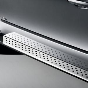 BMW Nachrüstsatz Aluminium Trittbretter X6 E71 E72