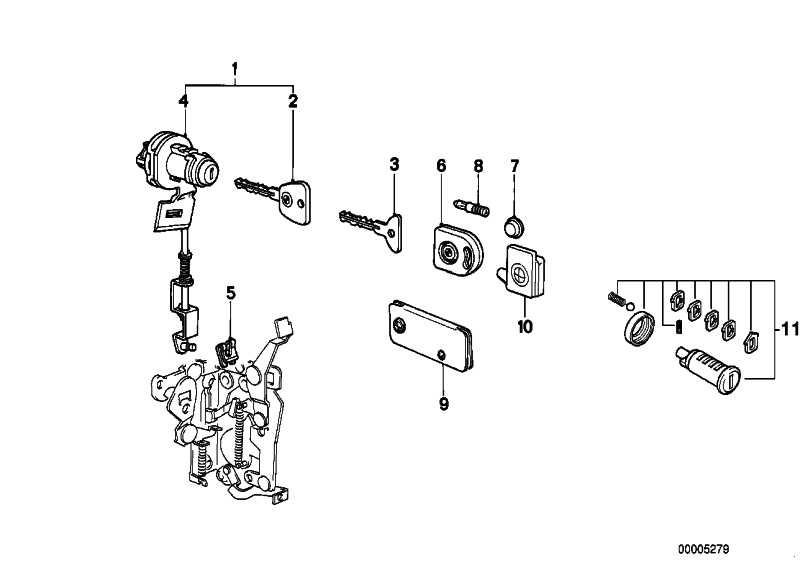 Generalschlüssel beleuchtet (Rohling) CODE* 10001     3er 5er 6er 7er  (51211900894)