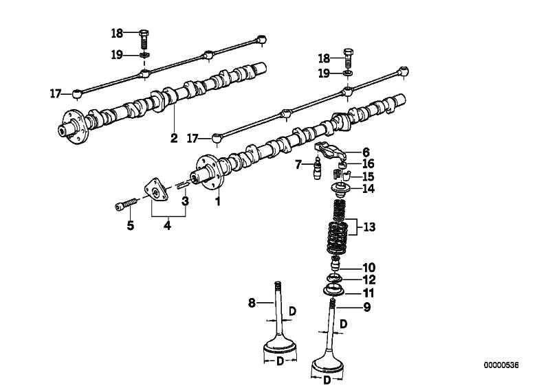 Nockenwelle links ZYL.7-12        7er 8er  (11311715832)