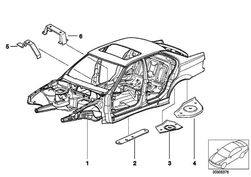 Verstärkung für Getriebe links  3er  (41122256493)