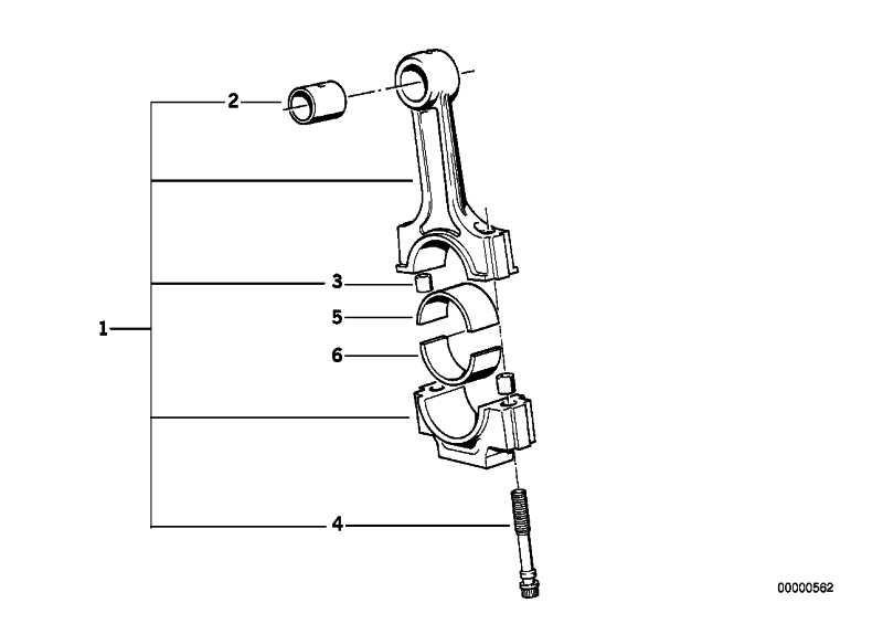 Pleuelschraube L=44MM 3er 5er X3 Z3 Z4  (11241739729)