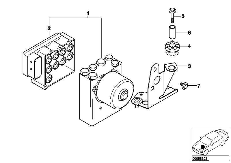 Hydroaggregat ASC  5er 7er  (34516756341)