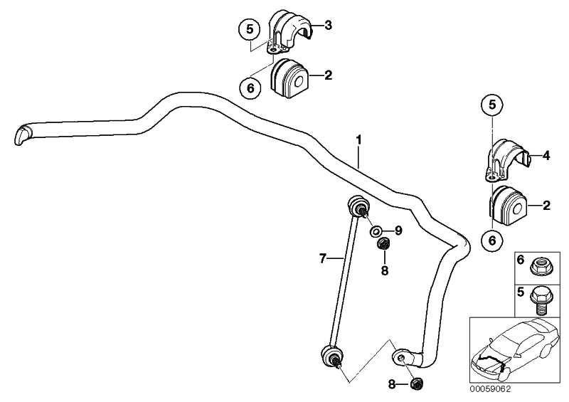 Sechskantschraube mit Scheibe M10X55          3er 7er X5  (31101096987)