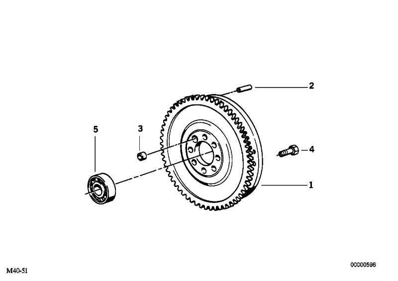 Zweimassenschwungrad D=228MM         3er 5er  (21211223596)