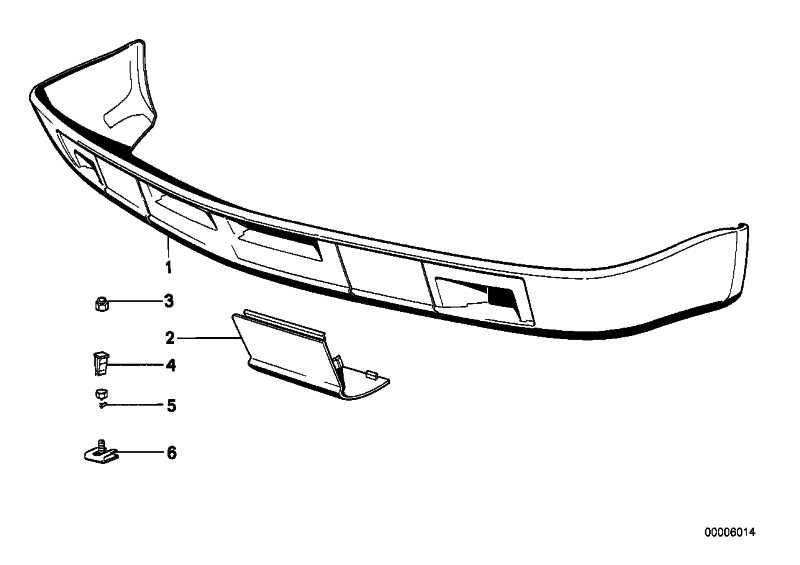 Nachrüstsatz Frontspoiler  5er  (51711932918)