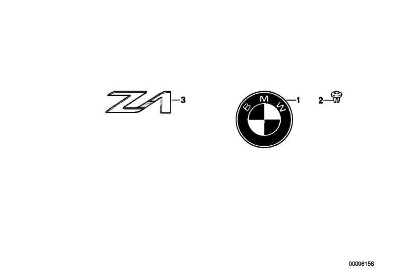 Plakette D=70MM          Z1 Z3  (51147721222)