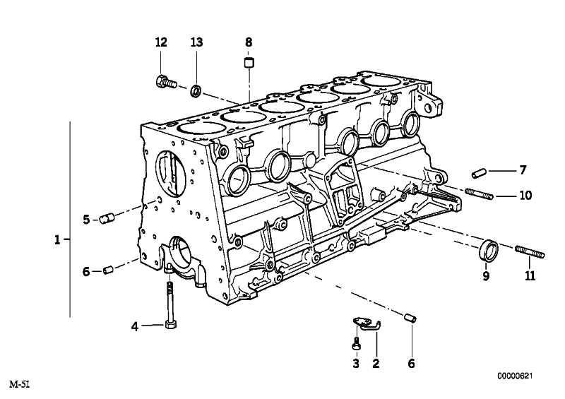 Satz Schrauben f. Zylinderkopf  3er 5er 7er X3 X5  (11129067790)