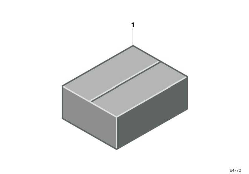 Abdeckkappe 26 POL./Z-CODE  1er 3er 5er 6er 7er X1 X3 X5 X6 Z3 Z4 Z8 MINI  (61136913644)