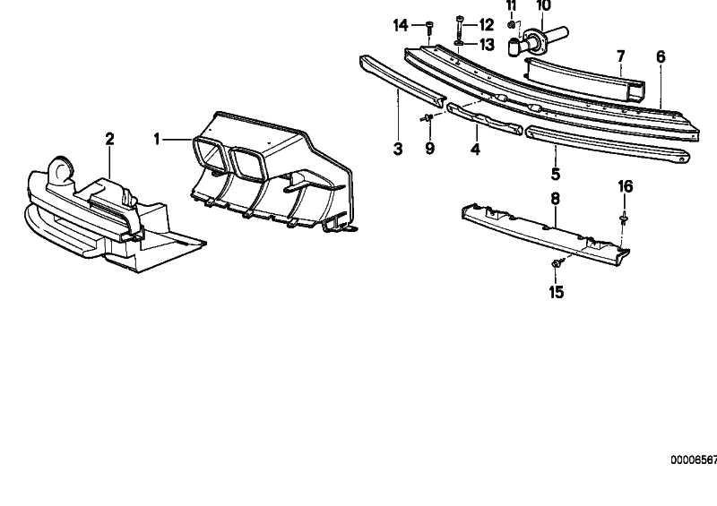 Luftführung M TECHNIC       8er  (51712252004)