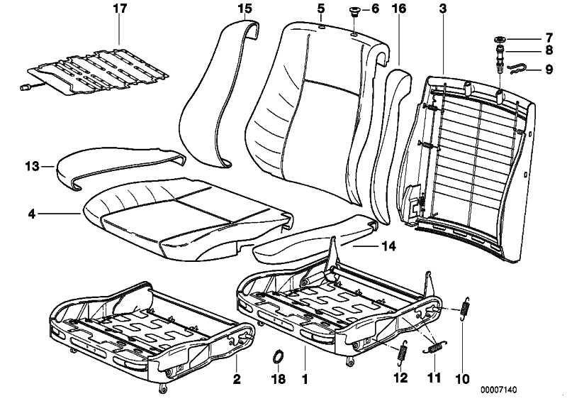Sensormatte Beifahrersitzerkennung  5er  (65778367597)