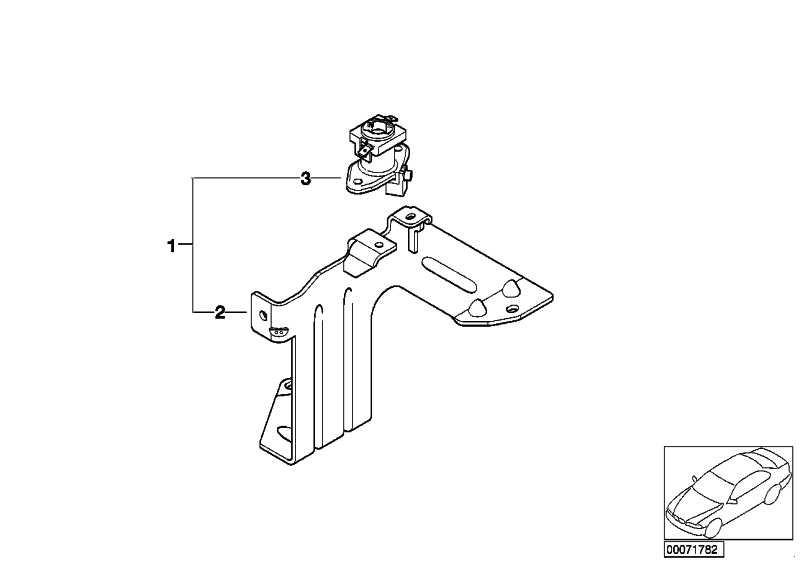 Adapter Hardtop 1 SATZ          3er  (54210016011)