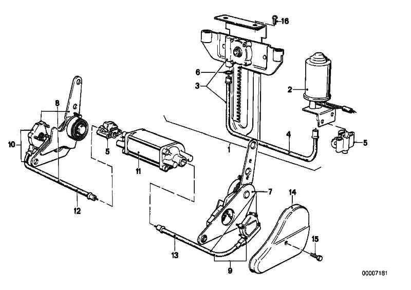 Welle Sitzhöhenverstellung rechts BROSE / L=454   5er 6er 7er  (52108242782)