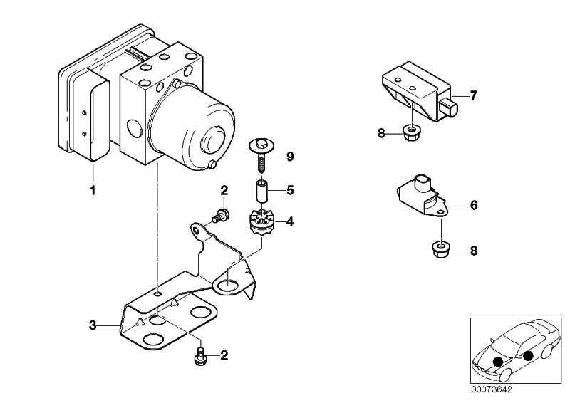 Reparatursatz Steuergerät DSC  3er Z3  (34516756293)