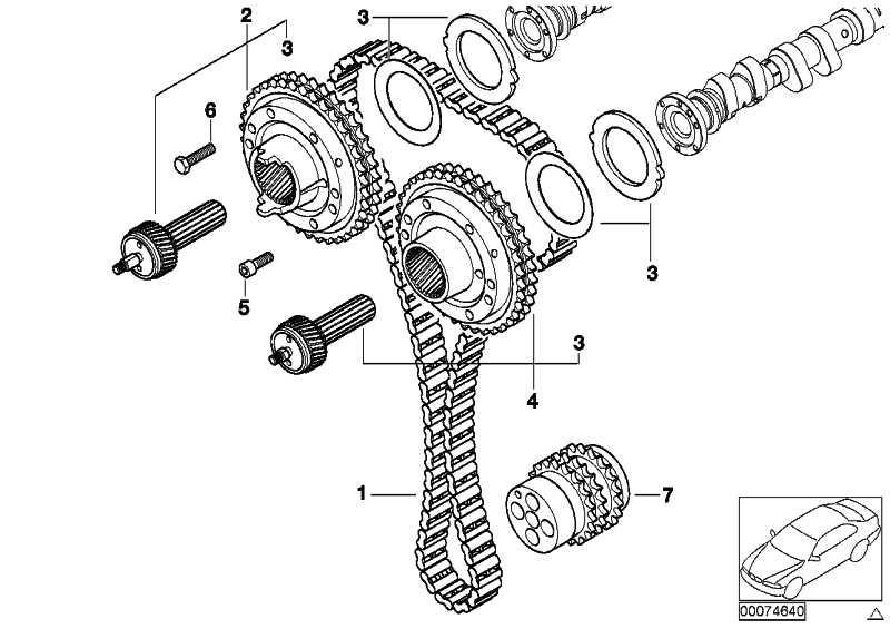 Vanos-Getriebe Auslass  3er Z3 Z4  (11367832031)