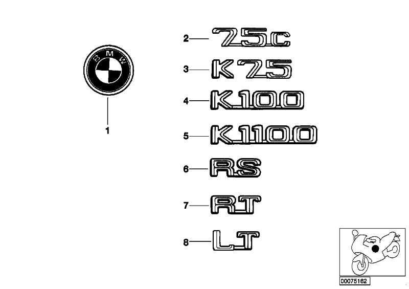 Plakette K1100 CR         (51142323017)
