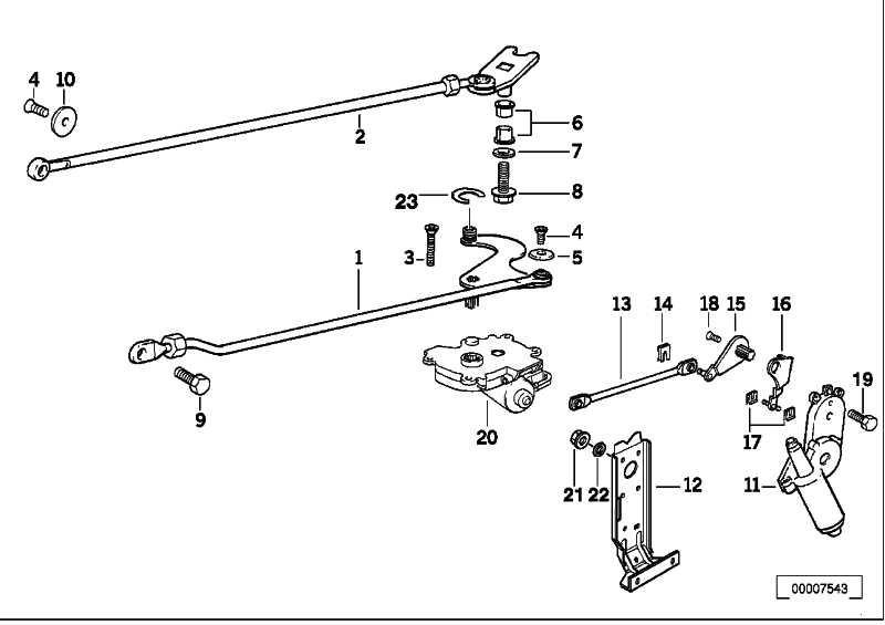 Antrieb Verdeckklappe  3er  (67618353577)