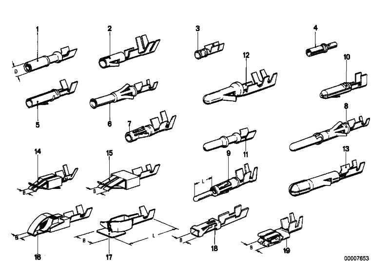 Doppelflachfederkontakt 1,5-2,5 MM²(AG) 1er 3er 5er 6er 7er 8er X1 X3 X5 Z3 Z4 Z8 MINI  (61131370692)