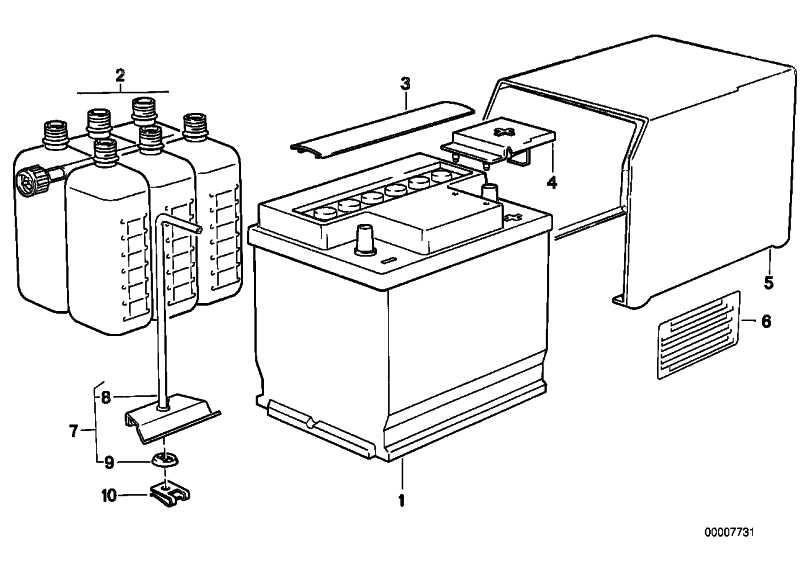 Batteriehalter 217MM 5er 6er 7er  (61211356881)