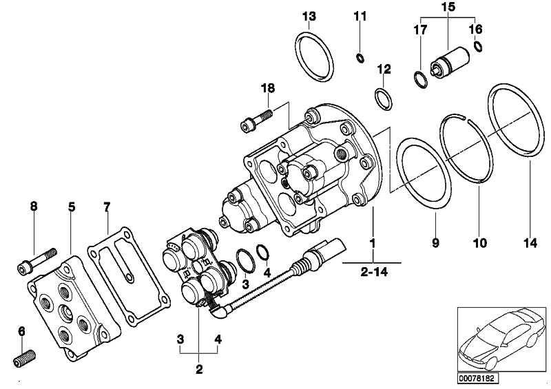 O-Ring 16X2MM          3er 5er Z3 Z4 Z8  (11411306082)