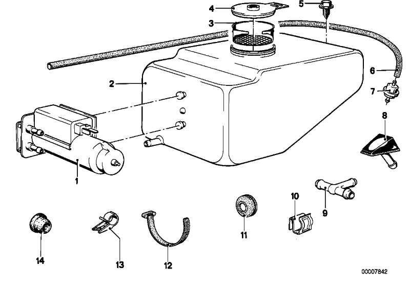 Sieb für Wasserbehälter  3er 5er 6er 7er 8er X5 Z1 Z3 Z4 Z8  (61661365848)