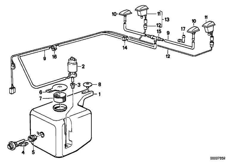 Flüssigkeitsbehälter  3er  (61661375570)