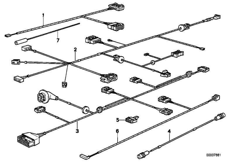 Kabelsatz Sonnenschutzrollo  8er  (61121392587)