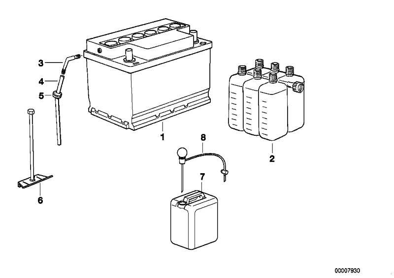 Batteriehalter  3er  (61218380280)