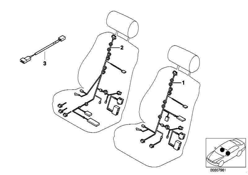 Kabelsatz Fahrerseite  7er 5er  (61126908603)