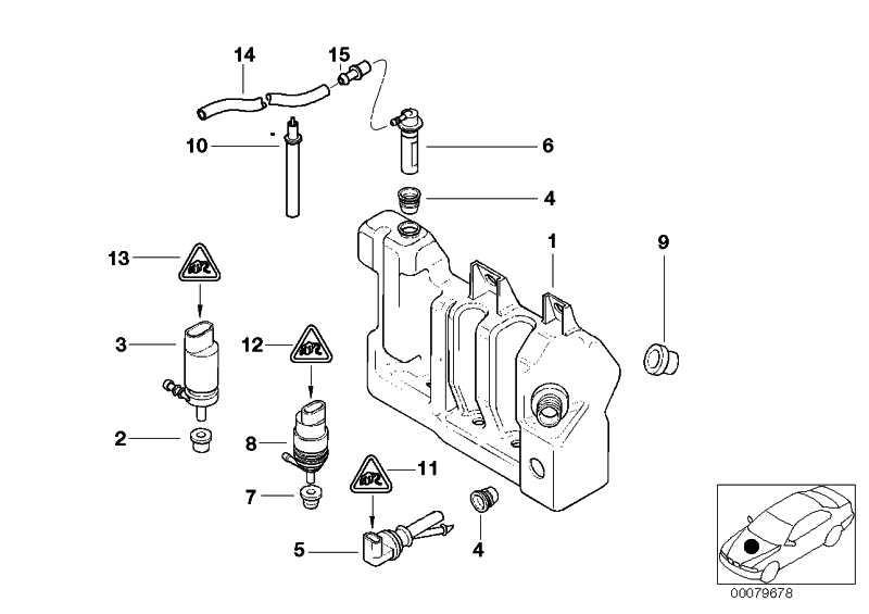 Flüssigkeitsbehälter mit Niveauanzeige  5er  (61677044898)