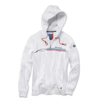 BMW Motorsport Sweatjacke Damen weiß