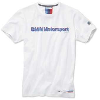 BMW Motorsport T-Shirt Herren weiß