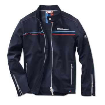 BMW Motorsport Softshelljacke Herren blau