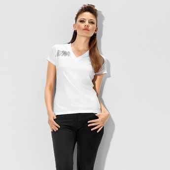BMW M Damen T-Shirt weiß