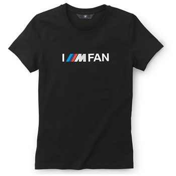 BMW Motorsport I M FAN T-Shirt Damen schwarz