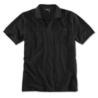 BMW M Herren Poloshirt schwarz