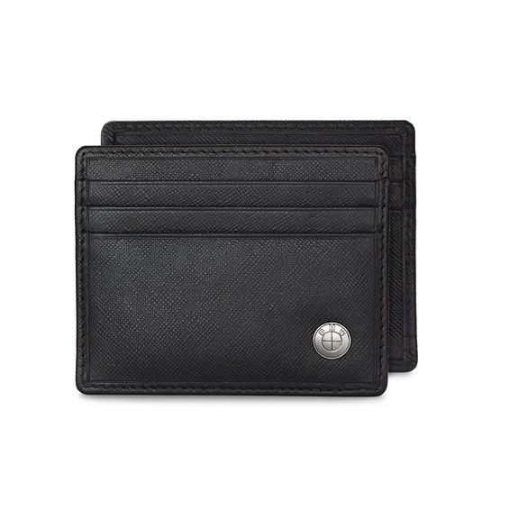 BMW Herren Kreditkartenetui Modern schwarz