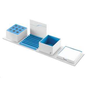 BMW i Schreibtisch-Organizer weiß/blau