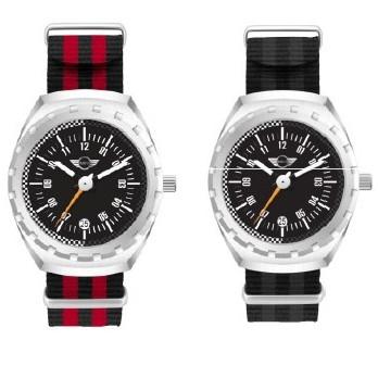 MINI Speedometer Watch Silver