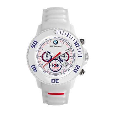 BMW Motorsport Uhr Chrono ICE watch weiß