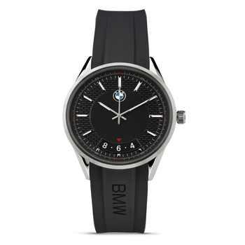 BMW Herren Armbanduhr modern schwarz