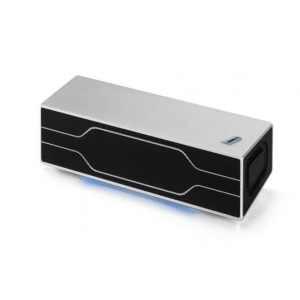 BMW i Bluetooth Lautsprecher silber/schwarz