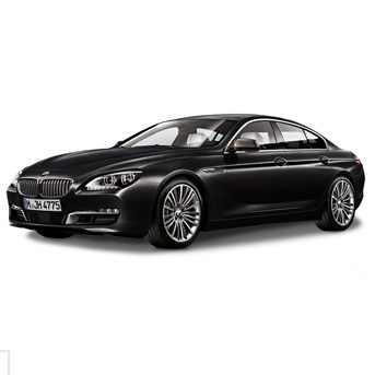 BMW 6er F06 Gran Coupé schwarz Miniatur 1:18