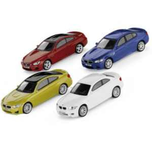 BMW M Car Collection Set Miniatur 1:64