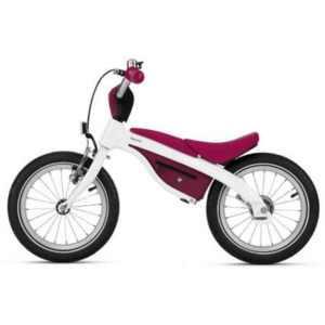 BMW Kidsbike weiß/himbeerrot