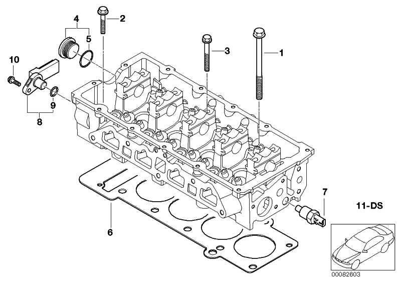 Sechskantschraube mit Scheibe M8X45           MINI  (11317829911)