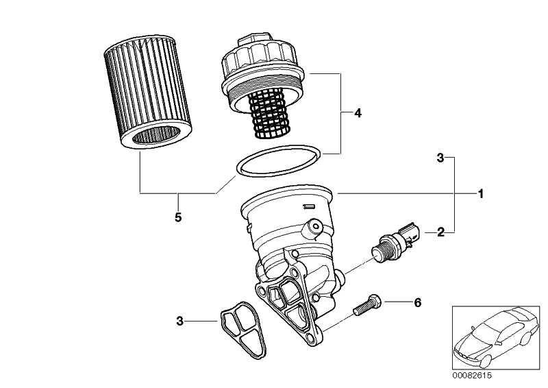 Ölfilter mit Aluminiumdeckel  MINI  (11427563522)