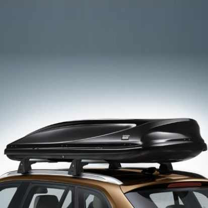 BMW Dachbox 460, schwarz