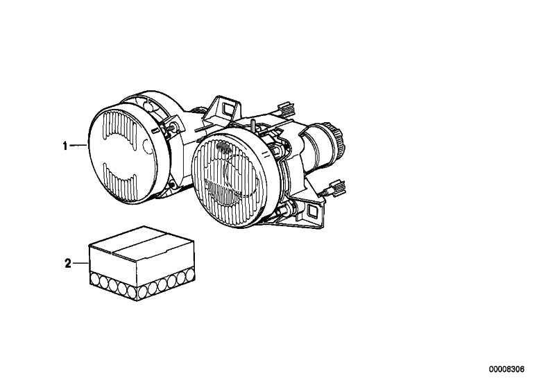 Doppelscheinwerfer rechts  3er  (63121386734)