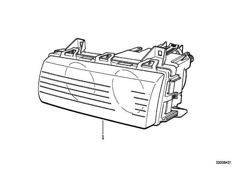 Scheinwerfer links BOSCH           3er  (63128363083)